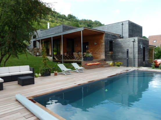 20 cool houses with a flat roof design
