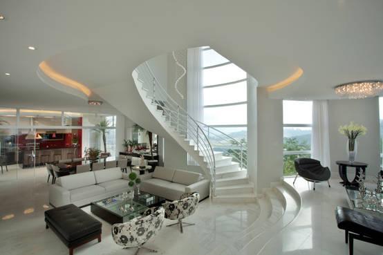 35 Ideas Espectaculares Para Escaleras En Espiral - Escaleras-de-caracol-modernas