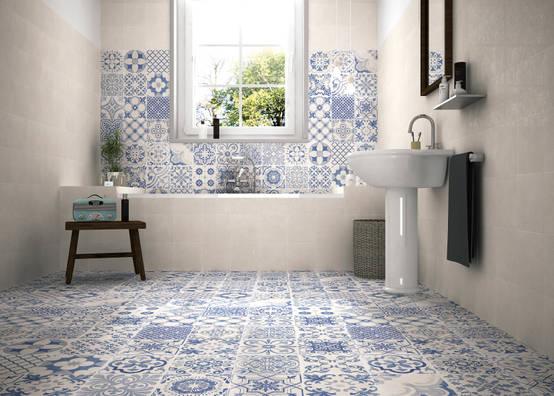 Stupende combinazioni con piastrelle per il bagno