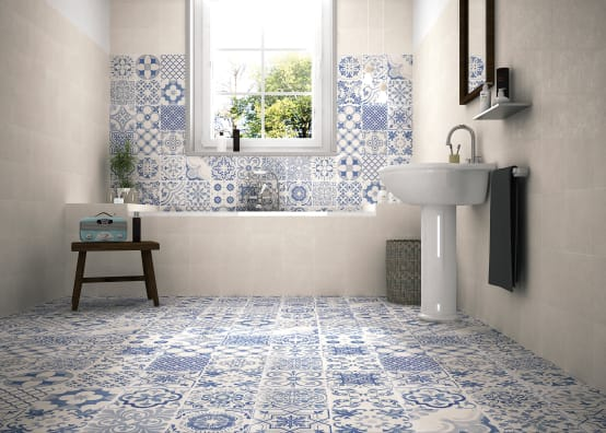 Badkamer Tegels Ceramico : 12 grootse combinaties van badkamer tegels