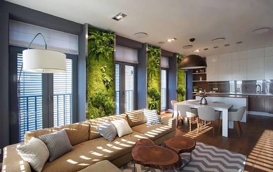 Jardines verticales 10 dise os para casas modernas for Design eco casa verde