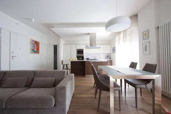 37 spunti su come dividere sala da pranzo soggiorno e cucina - Soggiorno e sala da pranzo ...