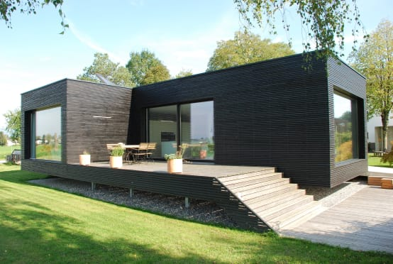 Uma moderna casa pr fabricada para se mudar agora mesmo - Casas prefabricadas experiencias ...