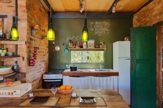 Cocinas rústicas pequeñas ¡inspírate!