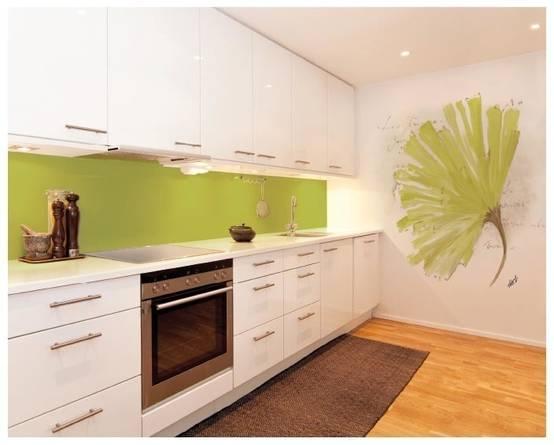 Tonalit di verde 16 idee per arredare casa for Murales per cucina