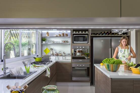 Design your kitchen: the advantages of an 'L' kitchen layout