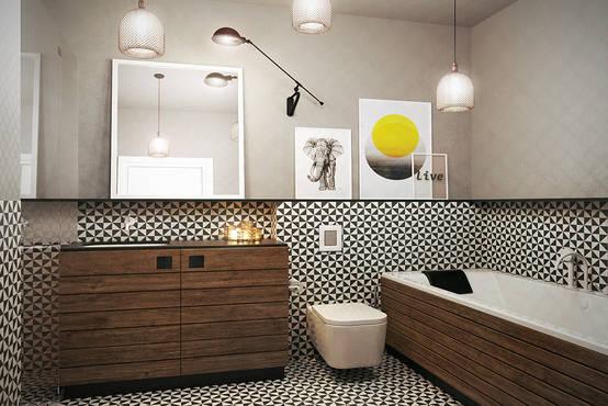 Azulejos inspiradores para a decoração do banheiro
