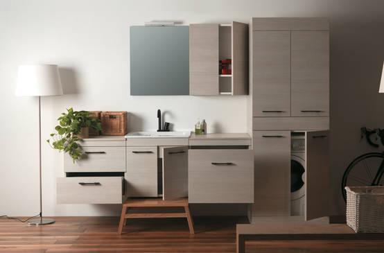 la lavatrice in bagno: 6 trucchi ingegnosi per nasconderla - Arredo Bagno Lavatrice Incasso