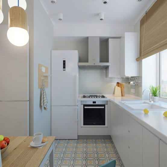 9 Ways To Incorporate A Fridge Into A Small Kitchen Homify