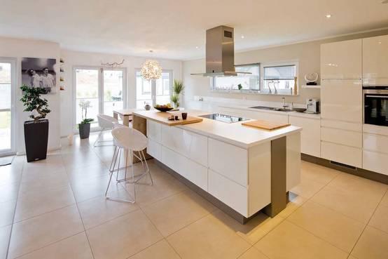 Wie kann ich die Küche vom Wohnzimmer trennen?