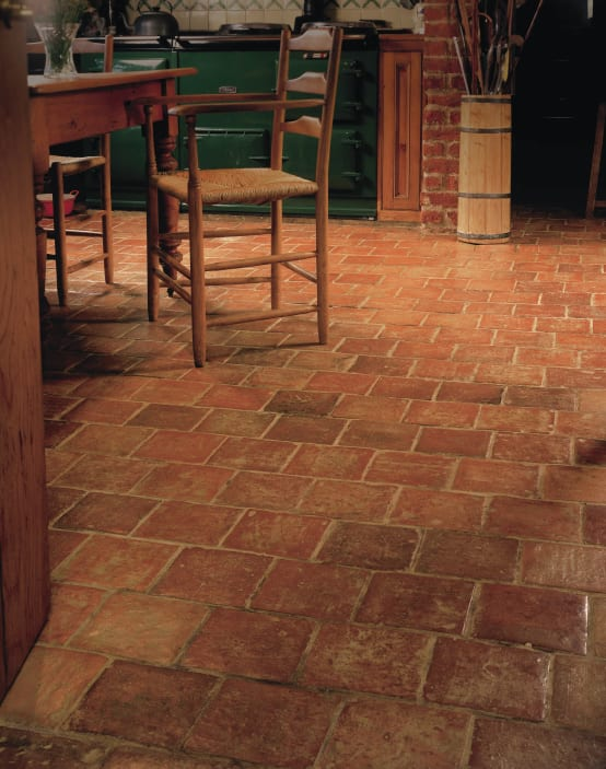 7 ideas de pisos r sticos para tu cocina - Ceramica rustica para suelos ...