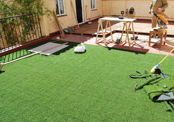 10 tipos de pisos que pod s tener en tu patio se ver - Pavimento exterior antideslizante barato ...