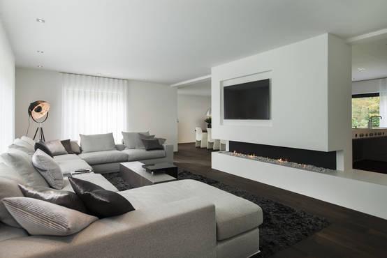 Leven in een luxe woonkamer for Interieur ideeen woonkamer foto s