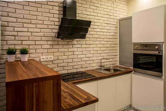 10 cocinas chiquitas de estilo minimalista for Cocinas chiquitas