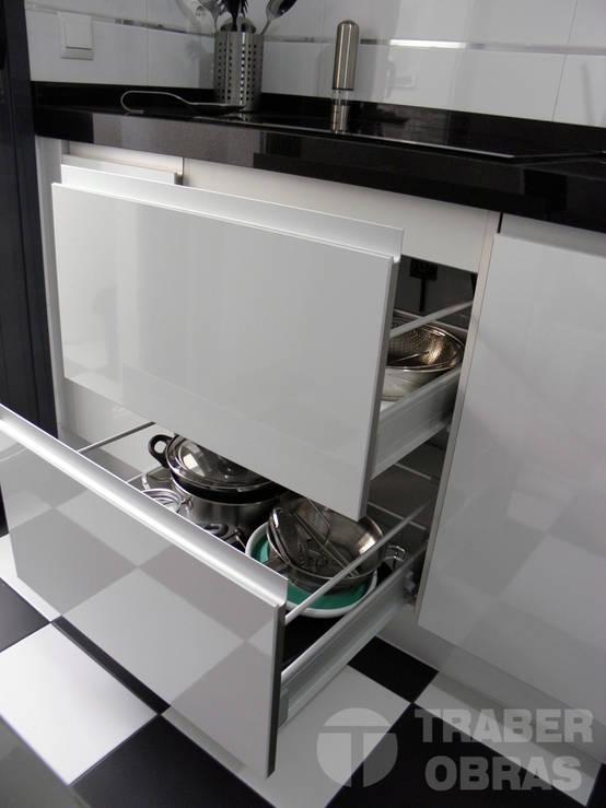Cocina – mueble extraible (módulo con 2 gavetas)