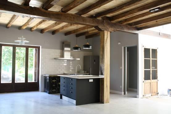 10 ideas maravillosas para un techo con vigas de madera - Vigas madera techo ...