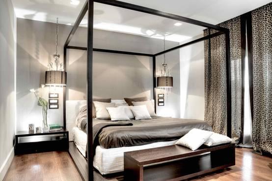 7 Letti a Baldacchino che stanno bene in un Appartamento Moderno