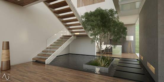 Jardines bajo la escalera 10 ideas extraordinarias - Escaleras jardin ...