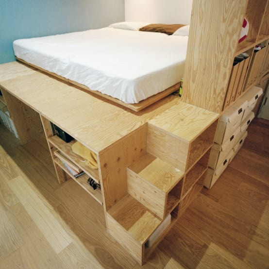15 muebles funcionales que toda casa peque a necesita for Se necesita montador de muebles