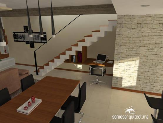 7 dise os de escaleras pensadas para casas con poquito espacio - Disenos de escaleras para casas ...