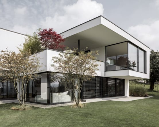 Haus Mit Viel Glas Top Warm Und Gemtlich Dieses Haus Ist Nur Einen