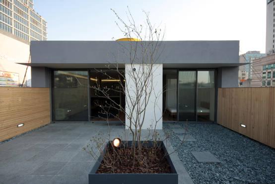 Mom's house: a cute 70m² penthouse in Korea