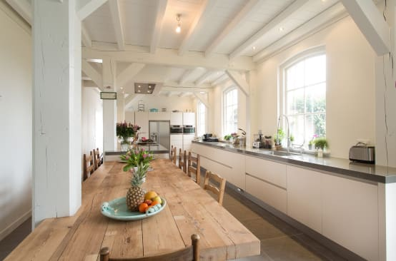Elementen om te behouden tijdens het renoveren van een oud huis