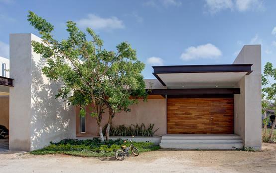 Casa de um piso 5 desenhos actuais for Piani di garage moderni