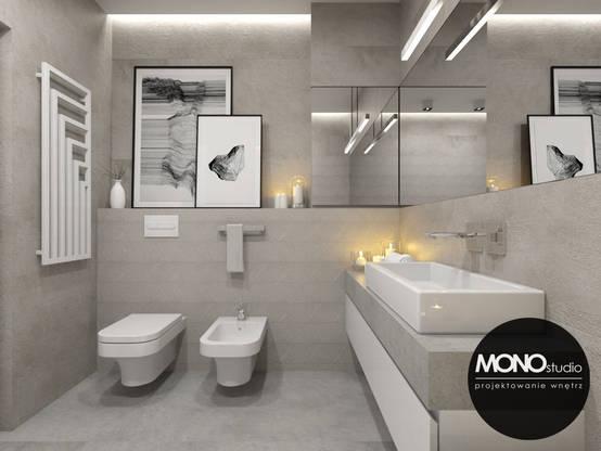 Ba os modernos 10 ideas para decorarlos con cuadros for Banos modernos para oficinas