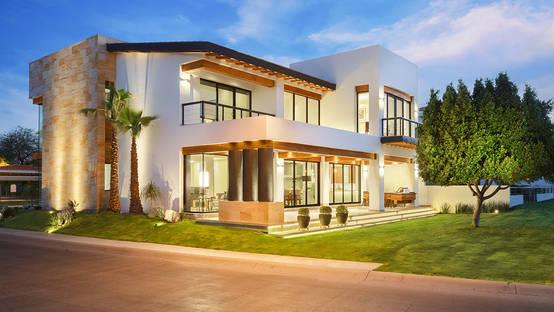 17 dise os de techos que har n lucir tu fachada for Figuras para techos de casas