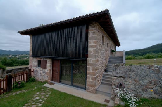 Casa rural en asturias dise o moderno y sofisticado - Casa rural diseno ...