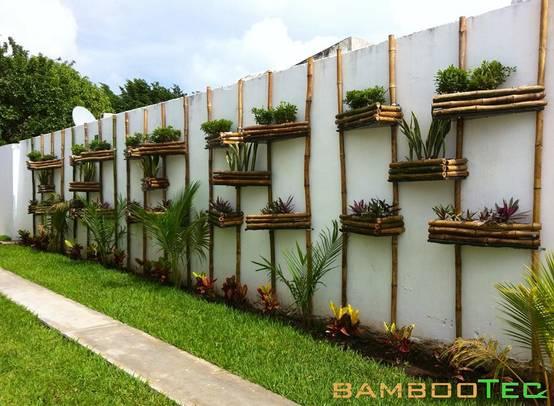 10 Fabulosas ideas para la pared de tu patio