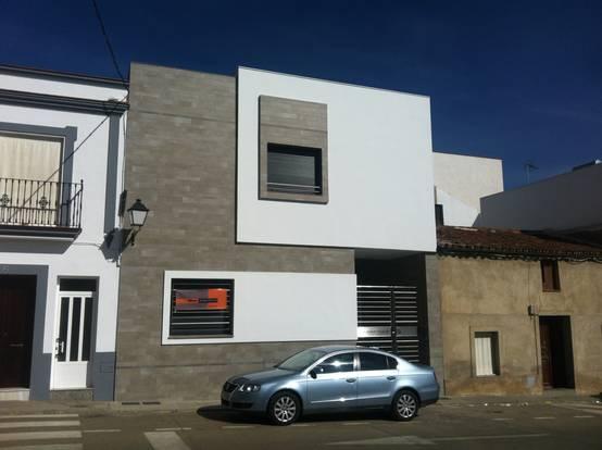 20 ideas de fachadas geniales para casas peque as for Casas ideas y proyectos
