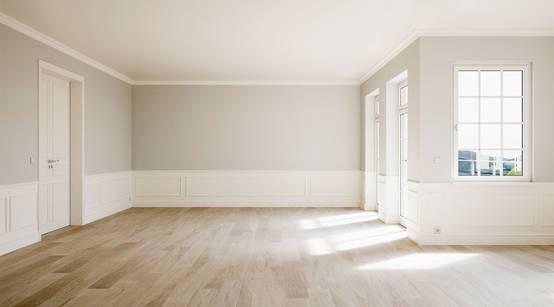 18 fotos que te ayudar n a elegir el color de las paredes for Corredor deco blanco y gris