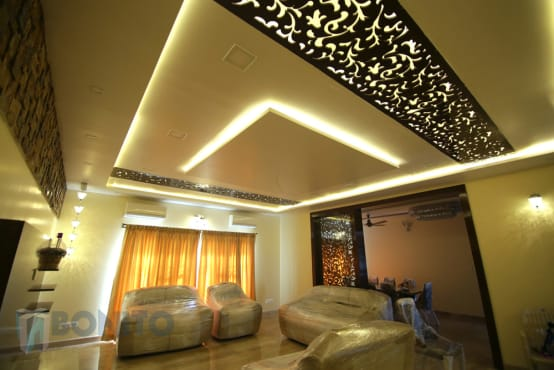 small bedroom false ceiling a trendy suburban villa in bangalore 17143 | photos by