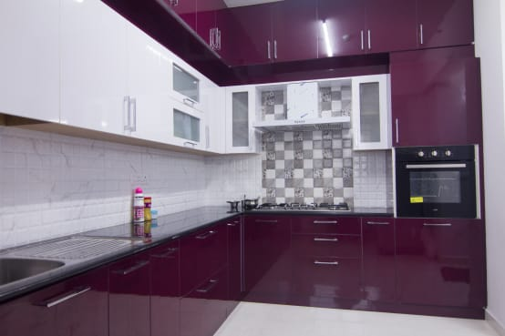 Homify for Kitchen cabinets bangalore