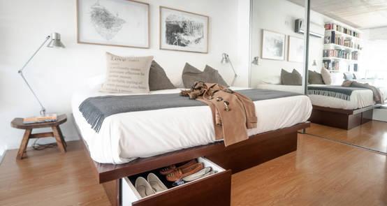 Ideas para organizar cuartos y dormitorios pequeños