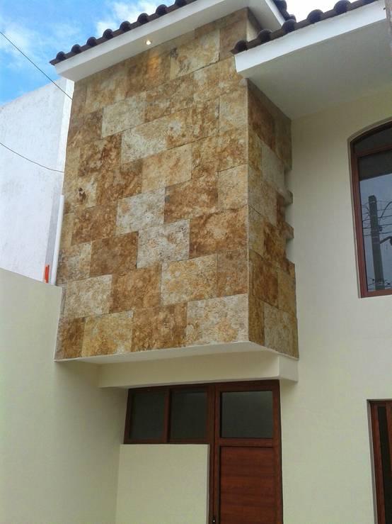 Stone Cladding Exterior Houses India