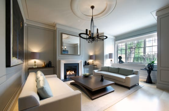 Working With Colour Grey Living Room Ideas Homify