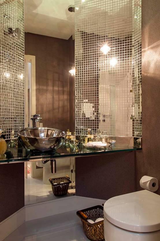 14 Lindos E Inspiradores Banheiros Com Pastilha