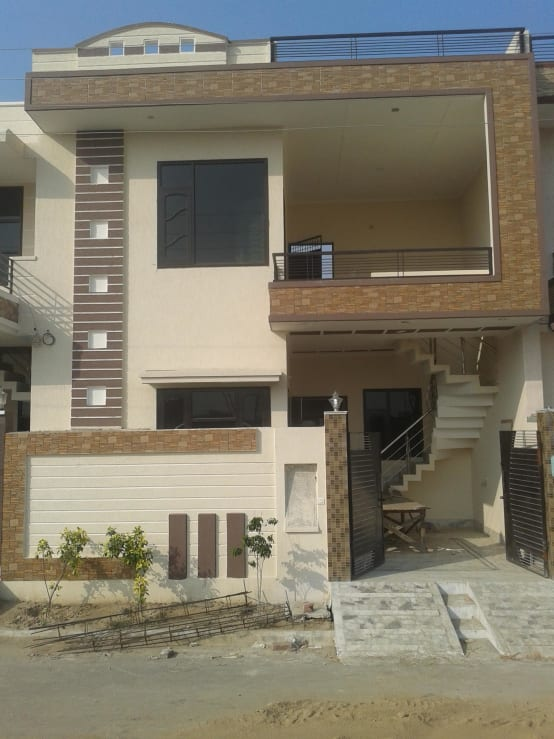 Residence Home Front Elevation : Pictures of delhi homes
