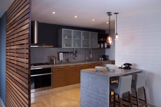 6 ideas para amueblar cocinas peque as - Amueblar cocinas pequenas ...