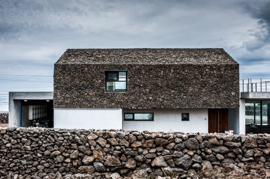 Ein Steinhaus der Extraklasse