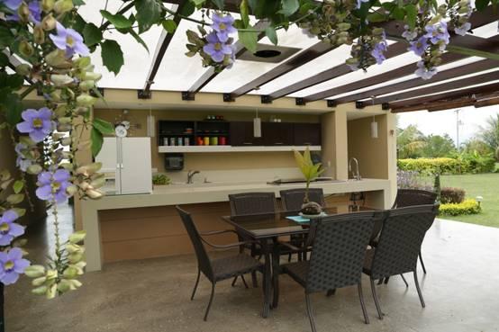 12 techos que har n que tu terraza se vea sensacional for Cocinas para patios