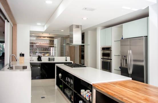 Ventajas y desventajas de las cocinas lineales for Cocinas homify