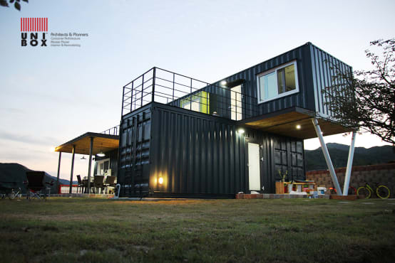 container houses in malaysia high functionality low cost. Black Bedroom Furniture Sets. Home Design Ideas