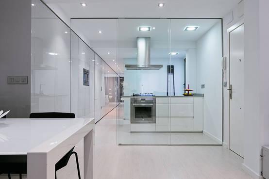 Interiores despejados viviendas minimalistas for Viviendas minimalistas