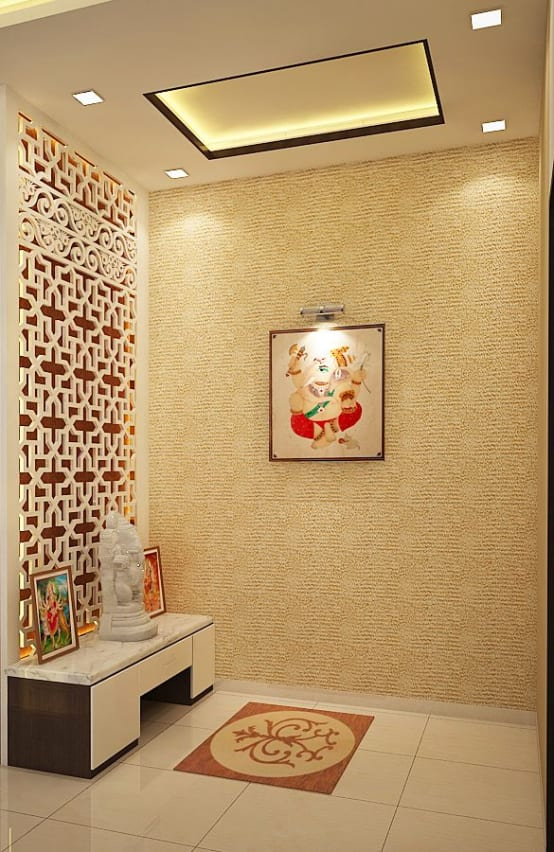 8 Amazing Wall Papers For Your Pooja Ghar