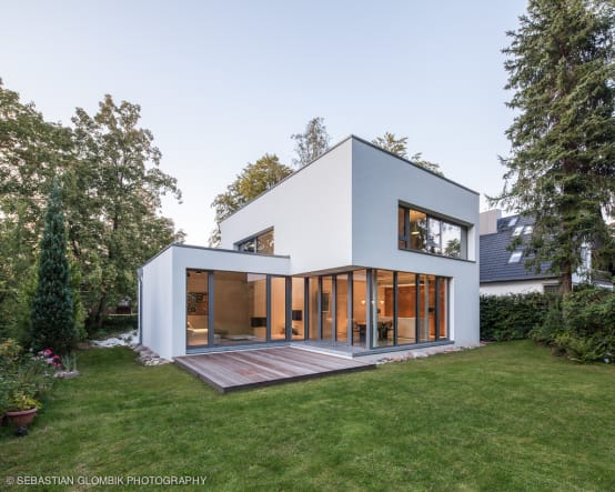 20 Cool Houses With A Flat Roof Design Homify