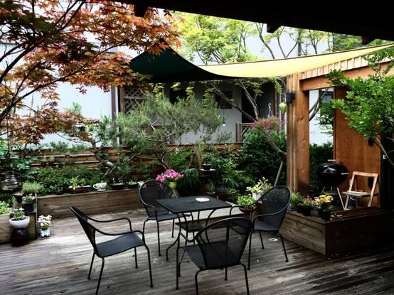 5 ngôi nhà với sân vườn nghỉ dưỡng đẹp như phim Hàn